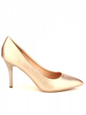 Escarpin simili color Champagne CINKS
