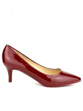 Escarpin verni bordeaux STEPHAN CHIC