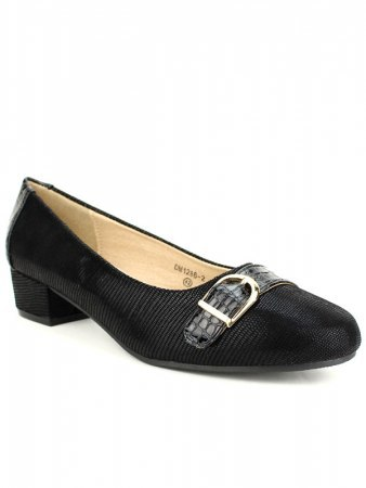 Escarpins écailles Noires M&L SHOES, image 03