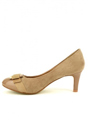 Escarpin Daim Beige GALINA Mode, image 03