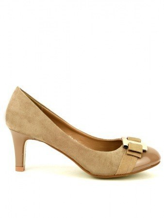 Escarpin Daim Beige GALINA Mode