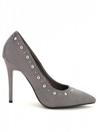 Escarpin Gris C'M Fashion