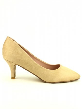 Escarpin Beige simili CINKS