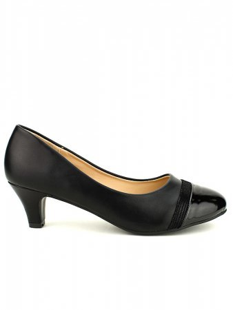 Escarpin simili Noir CINKS ME