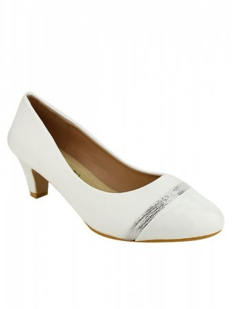 Escarpin simili Blanc CINKS ME, image 02