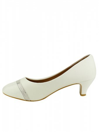 Escarpin simili Blanc CINKS ME, image 03