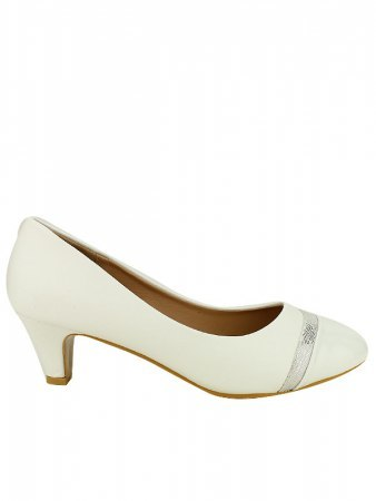 Escarpin simili Blanc CINKS ME