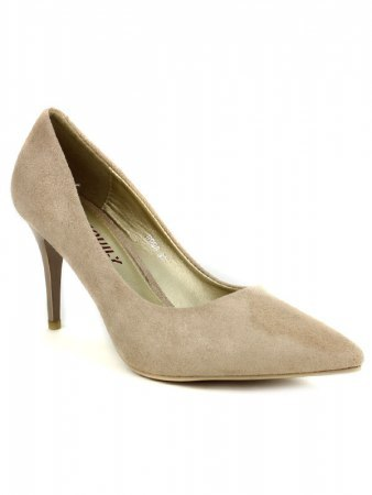 Escarpin color Taupe EXQUILY, image 02
