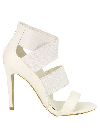 Escarpin Blanc LAURA FASHION