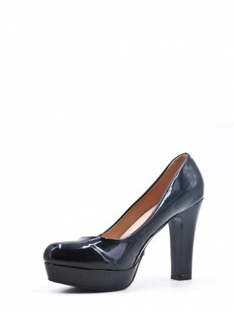 Escarpins Noir Verni LILY SHOES, image 02