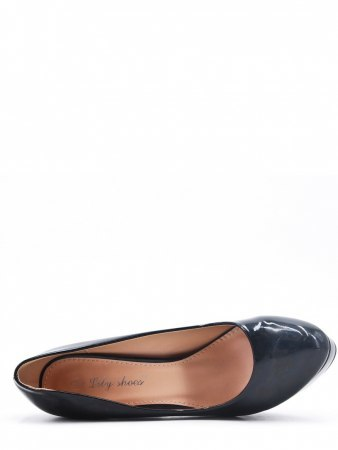 Escarpins Noir Verni LILY SHOES, image 03