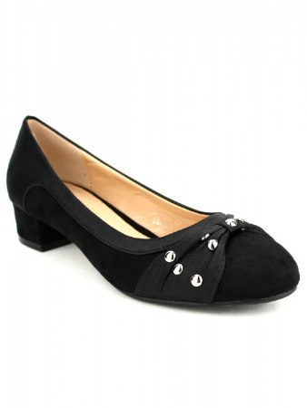 Escarpin color black WEIDES, image 02