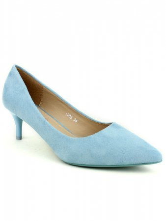 Escarpin color blue clair PINKA, image 02