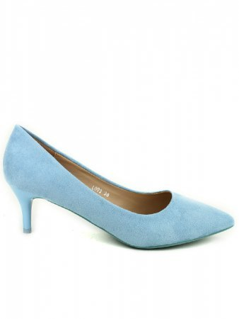 Escarpin color blue clair PINKA