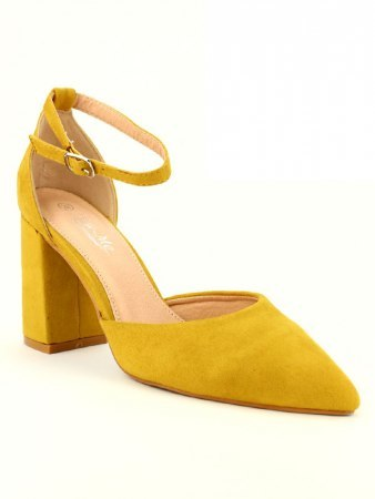 Escarpin Jaune simili CINKS, image 02