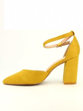Escarpin Jaune simili CINKS, image 03