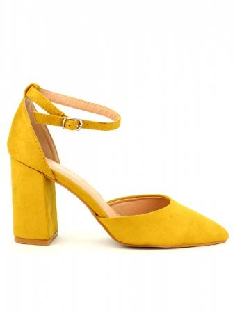 Escarpin Jaune simili CINKS