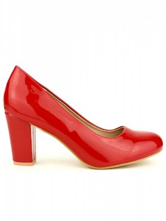 Escarpin verni Rouge CINKS ME
