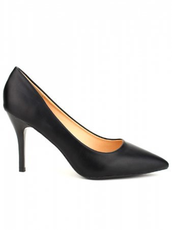 Escarpin simili noir CINKS