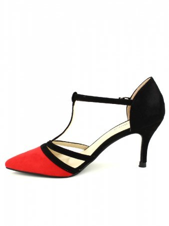 Escarpin Black and Red ML SHOES, image 02