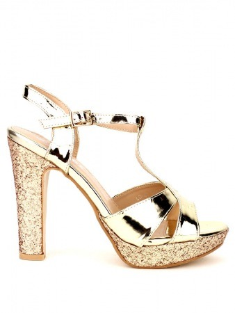 Escarpin GOLD WEIDIES verni