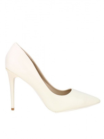 Escarpin Verni White ILLS