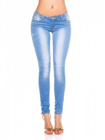 Jean KouCla Skinny in Used Look