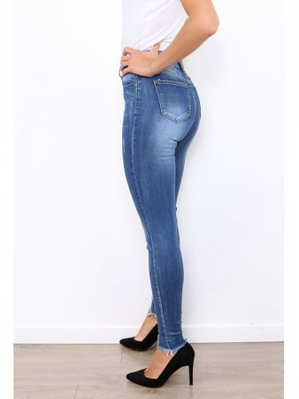 Jeans Skinny Bleu ABYSS, image 02