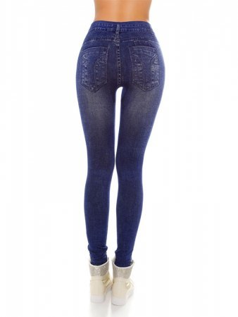 Legging Bleu IN STYLE FASHION, image 02