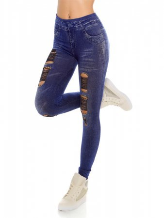 Legging Bleu IN STYLE FASHION, image 03
