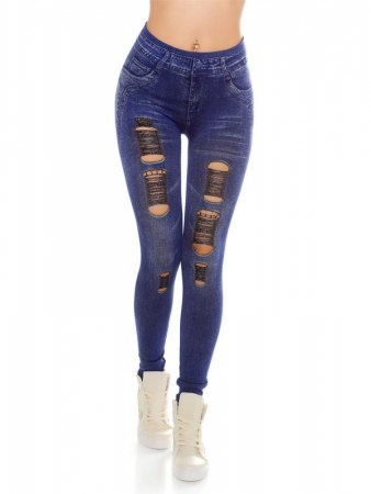 Legging Bleu IN STYLE FASHION
