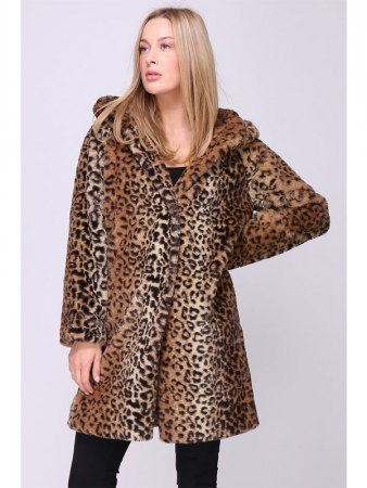 Manteau Long LEOPARD