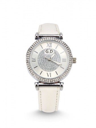 Montre blanche GD Quartz