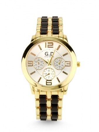 Montre GD Quartz Black and Or