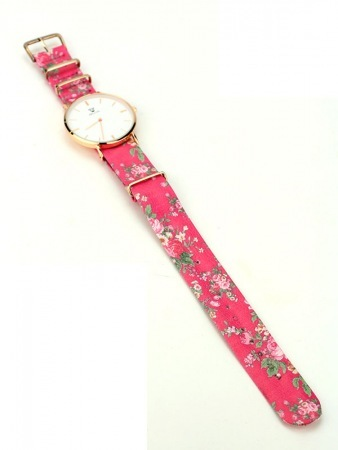 Montre Flowers Rose BELLOS, image 02