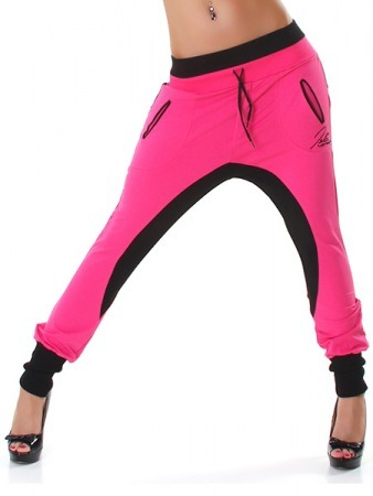 Jogging Color Fushia and Black POP