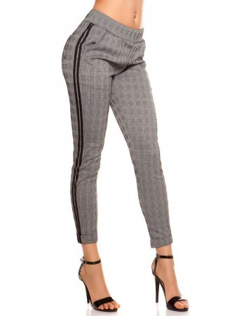 Pantalon Gris Trendy loose
