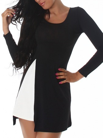 Robe 2en1 Black and white LIA