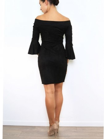 Robe Froufrou noire JUS AND CO, image 03