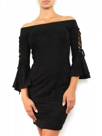 Robe Froufrou noire JUS AND CO