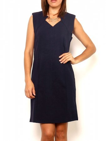 Robe Bleue Chic MARIE JUNE