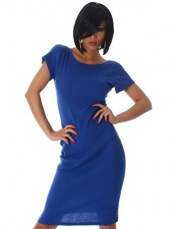 Robe color Royal CHRISTINA