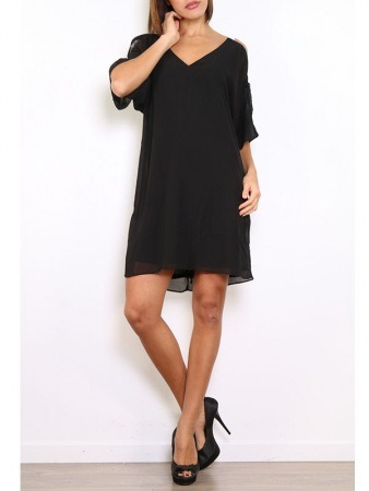 Robe Noire WHY NOT Chic, image 02