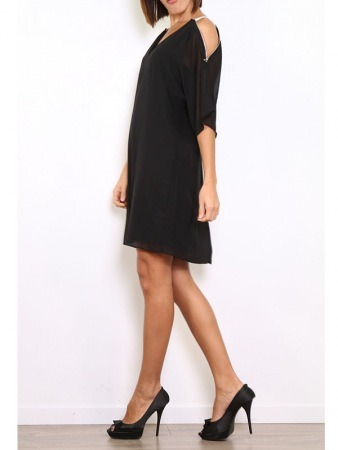 Robe Noire WHY NOT Chic, image 03