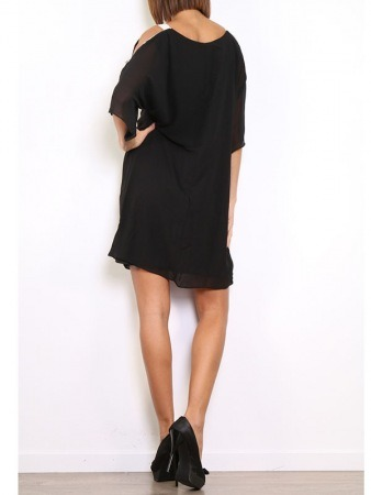 Robe Noire WHY NOT Chic, image 04