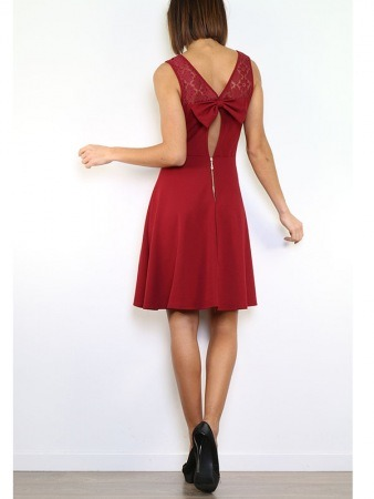 Robe Bordeaux  LUCKY STYLE, image 04