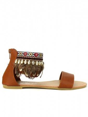Sandale Marron SIXTH SENS