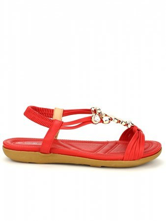 Sandale simili Rouge CINKS