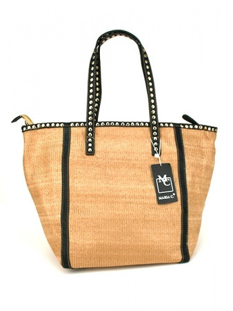 Sac Color Beige Mode rafia MAYA, image 02