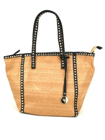 Sac Color Beige Mode rafia MAYA